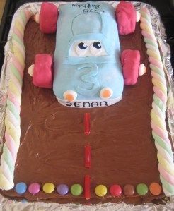 Car Cake for a boy's birthday