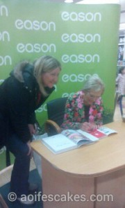 Mary Berry at book signing